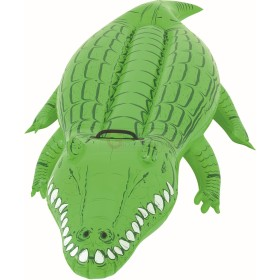 BESTWAY 41010 RIDEABLE CROCODILE INFLATABLE MEDIUM CM. 168X79