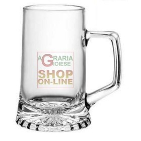 BORMIOLI MUG GLASS FOR BEER MOD. STERN 400 CL. 51