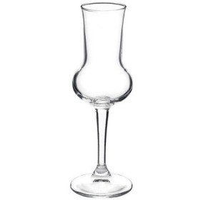 BORMIOLI SET OF 3 GLASSES GLASS RESTAURANT FOR GRAPPA CL. 8,1