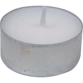TEA-LIGHT CANDELA BIANCA MADE IN ITALY DIAM. 38 PZ. 100