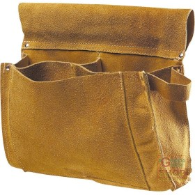 BAG CARPENTER'S CRUST 3 POCKETS YELLOW