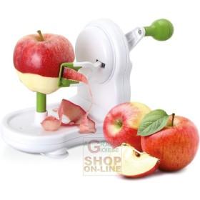 Pela mela sbucciatore in abs eva 3 funzioni per mele pere patate