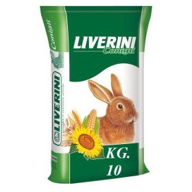 FEED FOR RABBITS SINGLE-CYCLE LIVERINI KG. 10