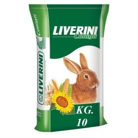 MANGIME PER CONIGLI CICLO UNICO LIVERINI KG. 10