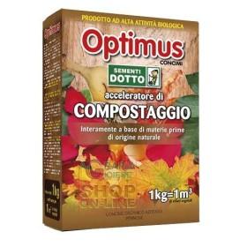 OPTIMIS CONCIME ATTIVATORE DI COMPOSTAGGIO KG. 1