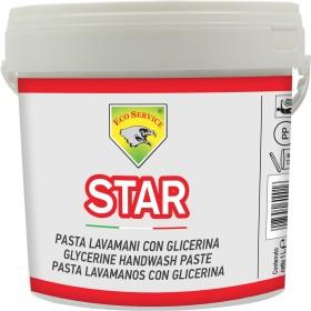 HAND WASHING PASTE WITH GLYCERINE, FRAGRANT LEMON STAR LT. 4