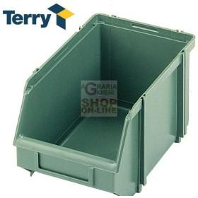 TERRY CONTENITORE AD INCASTRO RESINA UNIONBOX B MM. 147x234x129h.