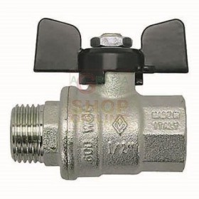 BALL VALVE MF. 3/8 IN. BUTTERFLY STEP TOTAL