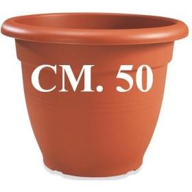 VASO CAMPANA CRETA PLASTIME CM. 50
