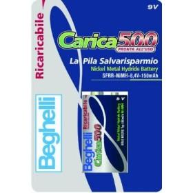 BEGHELLI PILE RICARICABILI C. 500 PZ. 1 TRANSTOR STILO M.H. 150