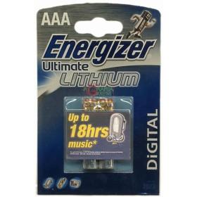 ENERGIZER PILE ULTIMATE-LITIO MINISTILO 2 PZ. L3