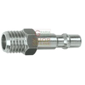 ADAPTER QUICK COUPLING FOR PRESSURE WASHER 1/4 INCH. MALE