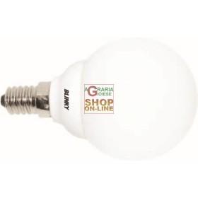 BLINKY LAMPADE BASSO CONSUMO SFERA CALDA E14 9W-410LM