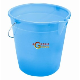BUCKET WITH SPOUT WHITE LT.12
