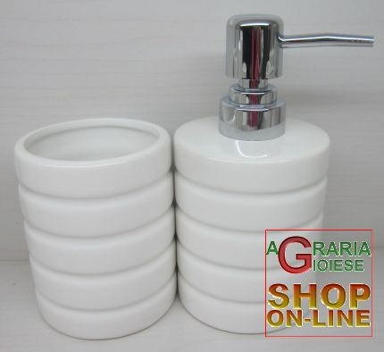 Serie porta spazzolino e sapone per bagno da appoggio in - Spazzolino bagno ...