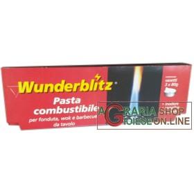 WUNDERBLITZ SET 3 RICARICHE PASTA COMBUSTIBILE GR. 80