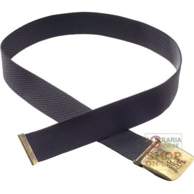 BELT A STRIP OF TEXTILE WITH BUCKLE GBTINC COLOR BLACK