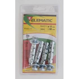 ELEMATIC BLISTER TASSELLI LE/B8 PZ. 4