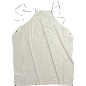 GREMBIULE PVC 100% 90X110 BIANCO