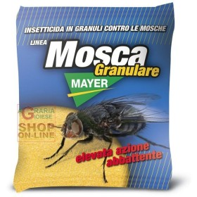 MOSCAMAYER GRANULAR INSECTICIDE AGAINST FLIES, FLY PAPERS