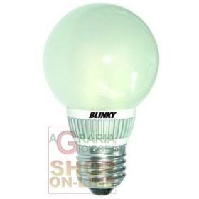 BLINKY LAMPADA A LED 49-LED LUCE CALDA E27 5,5W 400LM