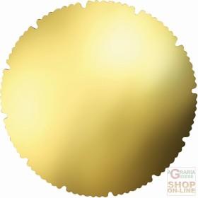 FACKELMANN 6 SOTTOTORTA IN PAPER GOLD COLOR. 28 CM ART. 43523