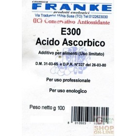 ASCORBIC ACID ENVELOPE GR. 100