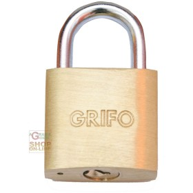 LUCCHETTO OTTONE GRIFO MM. 30 BLISTER