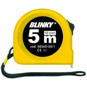 BLINKY FLESSOMETRO ABS CON BLOCK NASTRO MM. 16 MT. 5