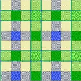BLINKY TABLECLOTH PVC SCOTLAND, MT. 1,4 X 30