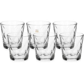 BORMIOLI SET OF 6 GLASSES, GLASS FOR WATER MOD. KALEIDO CL. 24