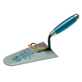 AUSONIA Trowel to round toeline cap with a wood handle cm 18