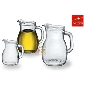 BORMIOLI CARAFE BISTRO GLASS FOR WINE AND WATER ML. 1000