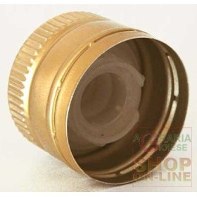 CAPSULES MANUAL FOR OIL WITH POURER COLOR GOLD PCS. 10