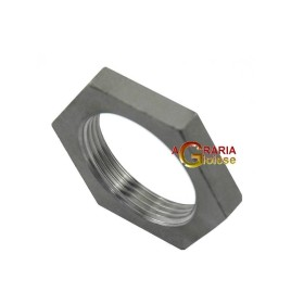 LOCK NUT AISI 316 STAINLESS STEEL, 1 IN.