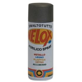 VELOX SPRAY ACRILICO GRIGIO ARGENTO RAL 7001