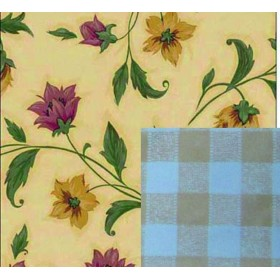 BLINKY TABLECLOTH, DOUBLE-FACE FLOWER-LIBERTY MT. 1,4 X 30