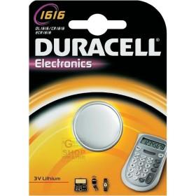 DURACELL BUTTON BATTERY CR1616 BL.1PCS