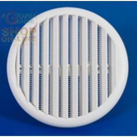 GRIGLIA AERAZIONE IN PLASTICA CON MOLLE DIAM. MM. 55 - 85 PZ. 2