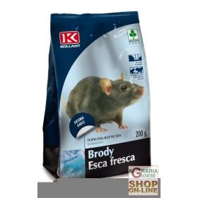KOLLANT BRODY FRESH BAIT RAT POISON RAT POISON GR. 200