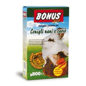 FEED DWARF RABBITS PREMIUM GR. 600 BONUS