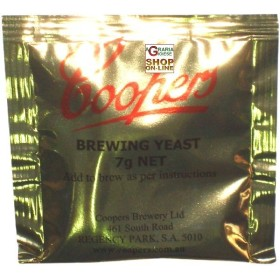 LIEVITO COOPERS BREWING YEAST 7 GR.