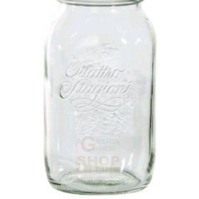 BORMIOLI GLASS JARS FOUR SEASONS WITHOUT CAP 1.5 L