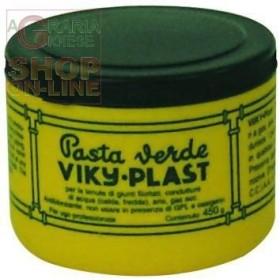PASTA AUTOBLOCCANTE VIKI PLAST VERDE PER RACCORDI GR. 450