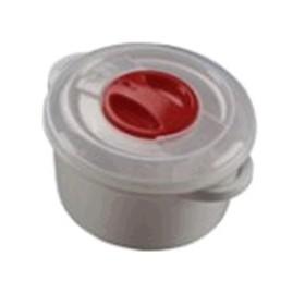 CONTENITORE IN PLASTICA PER MICROONDE CON VALVOLA LT. 0,500