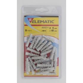 ELEMATIC BLISTER TASSELLI E 6 PZ. 30