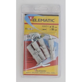 ELEMATIC BLISTER TASSELLI ENP/GC12 PZ. 4