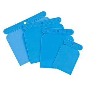 Einhell Set 4 spatole in plastica mm. 50 80 100 120