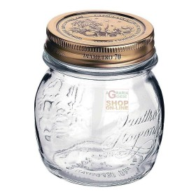 BORMIOLI GLASS JARS FOUR SEASONS WITH CAP, DIAM. MM 70 CL. 25