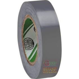 NASTRO PVC MM  15X MT  10  COLORE GRIGIO